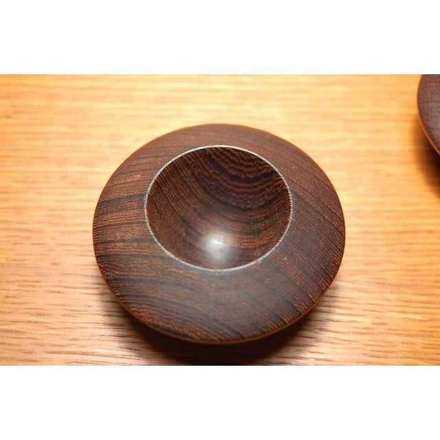 Wenge Salt Chambers From Denmark For Sale In Providence - Image 6 of 7