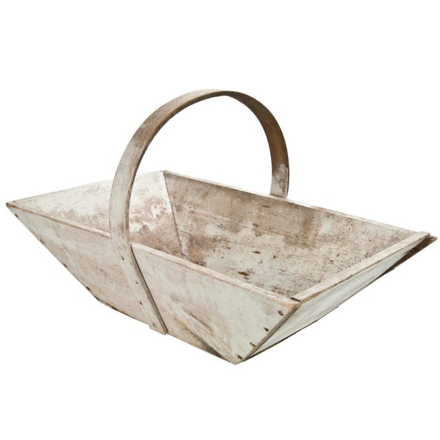 Vintage French Wood Garden Trug - Image 2 of 6