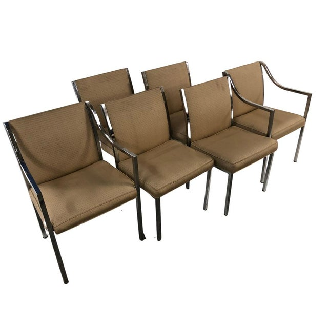 Stow & Davis 1970s Mid-Century Dining Chairs - Set of 6 For Sale - Image 4 of 5