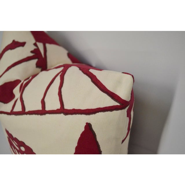 Clarence House Clarence House Cotton Elephant Pillow For Sale - Image 4 of 5