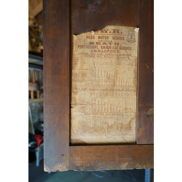 19th Century Welsh Train Station Cabinet For Sale - Image 9 of 10