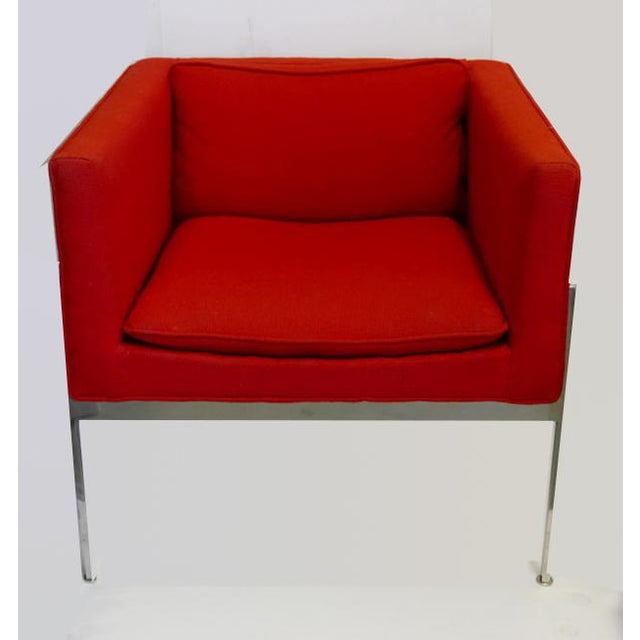 1950s Vintage Chrome Side Chair by Stendig For Sale - Image 5 of 5