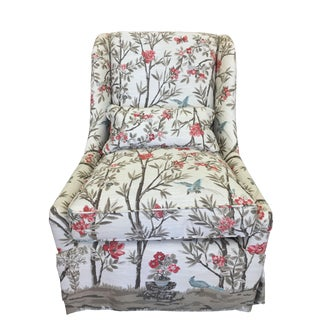 Modern Pearson Upholstered Chair For Sale