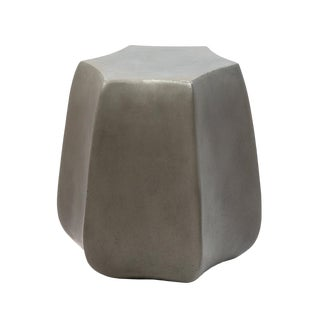 Bloom Concrete Side Table For Sale