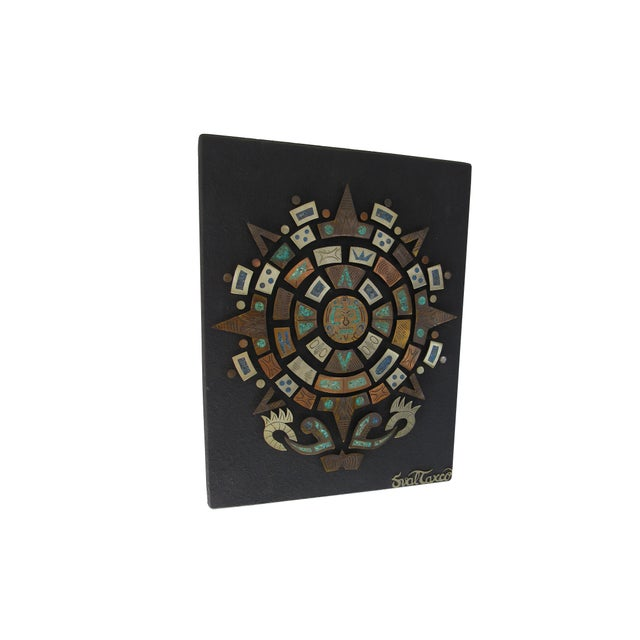 Mid Century Mexican Modern Wall Plaque For Sale - Image 9 of 9