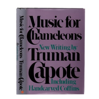 "1980 ""First Edition, Music for Chameleons"" Collectible Book For Sale"