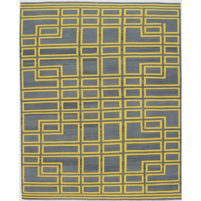 21st Century Modern Kilim Rug For Sale - Image 10 of 10