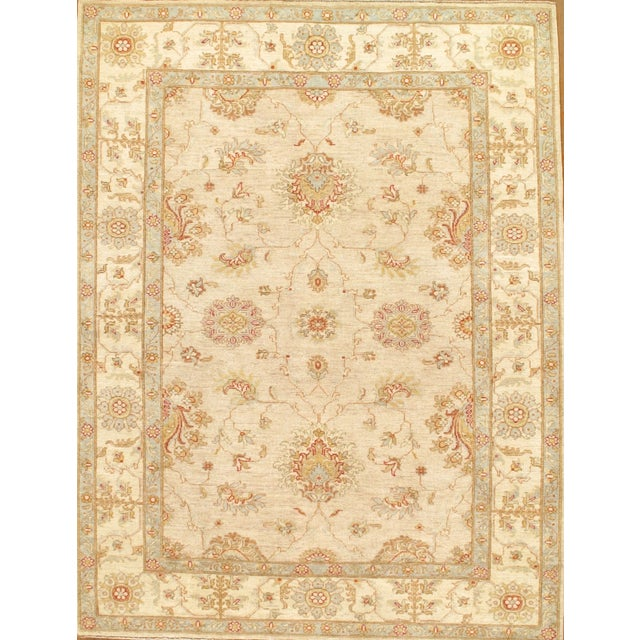 Pasargad Hand Knotted Ferahan Rug - 5′9″ × 7′7″ - Image 1 of 2