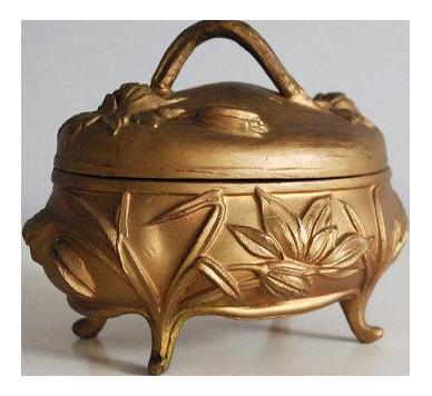 Vintage Used Art Nouveau Boxes Chairish