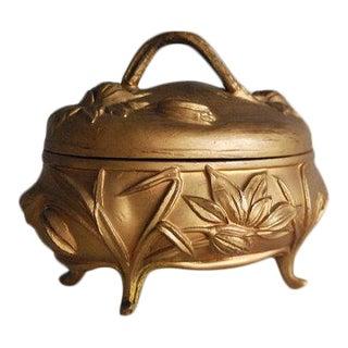1900s Art Nouveau Jewelry Box