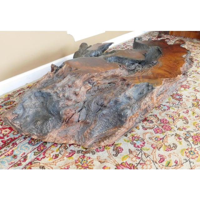 Walnut Driftwood Coffee Table Base - Image 5 of 9