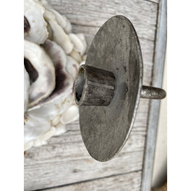 Ivory Oly Studio Oyster Shell Candle Wall Sconces - a Pair For Sale - Image 8 of 13