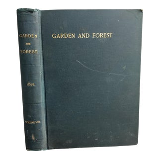 Garden and Forest, Bound Journals of 1895 For Sale