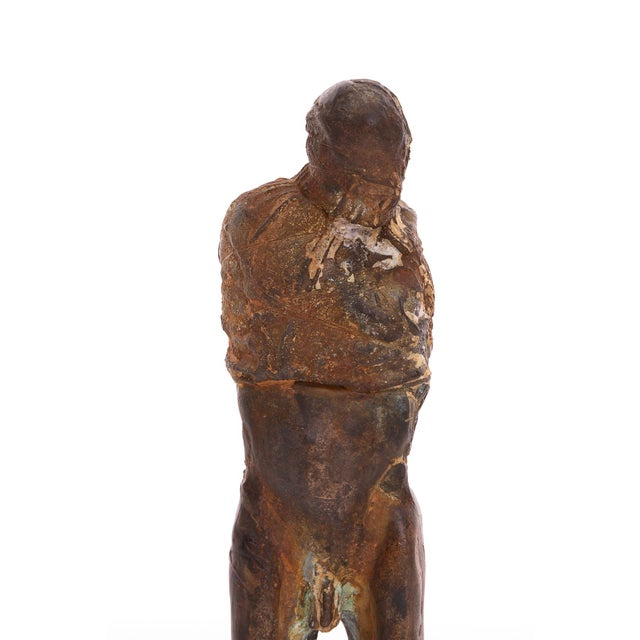 1970s Figurative Bronze Sculpture by Carl Dahl For Sale - Image 4 of 5