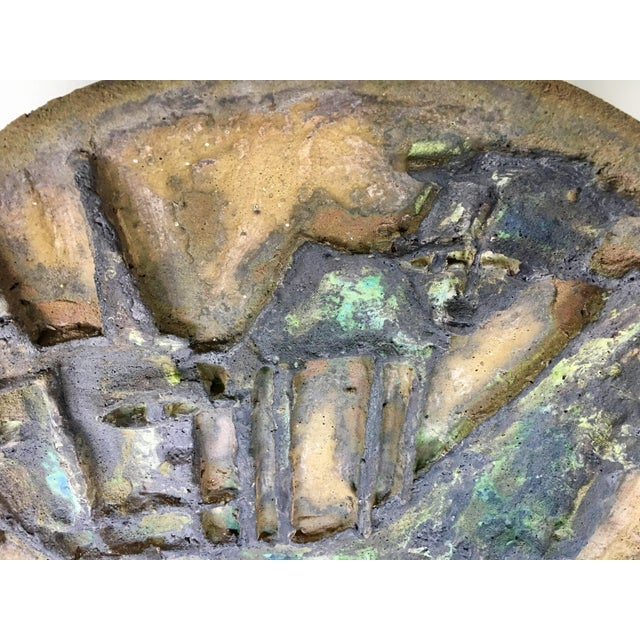 Marcello Fantoni Large Brutalist Clay Sculpture - Image 6 of 8