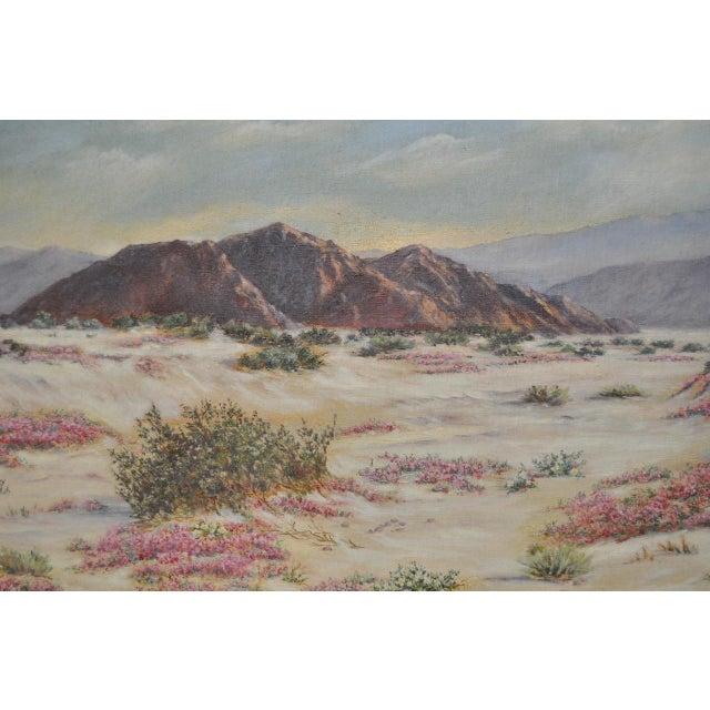 Elizabeth Hewlett Watkins California Desert Landscape Painting - Image 3 of 10