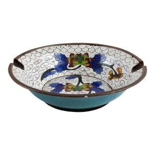 Vintage Cloisonne Ashtray or Bowl For Sale