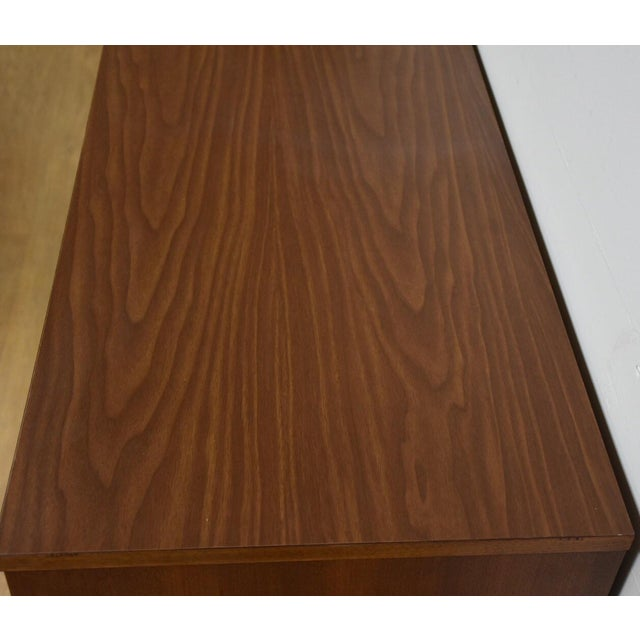 Wood Bassett Walnut & Formica Dresser For Sale - Image 7 of 9