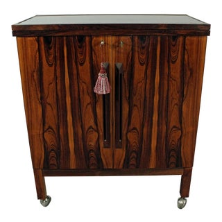 Danish Modern Torbjorn Afdal Mellemstrand Rosewood Bar Cabinet For Sale