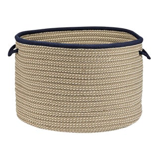 Boat House Navy Basket