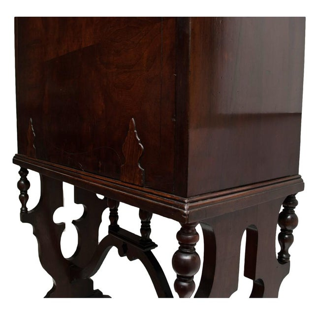 "Early 20th Century ""Vargueno"" Secretary Desk - Image 8 of 10"