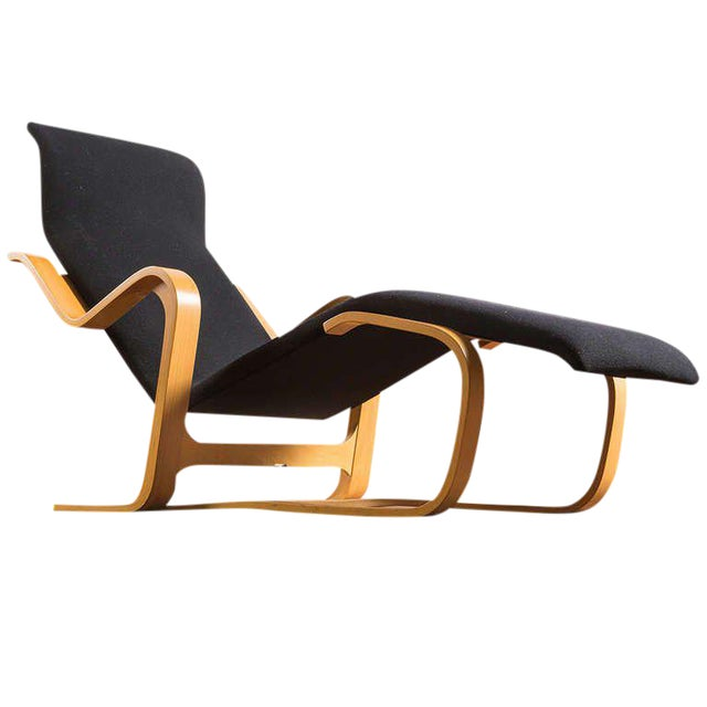 Stunning Reclining Chaise Longue By Marcel Breuer
