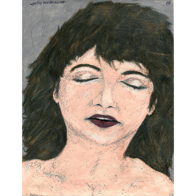 Folk Art Paul Humphrey: Betsy Boker Asleep For Sale - Image 3 of 3