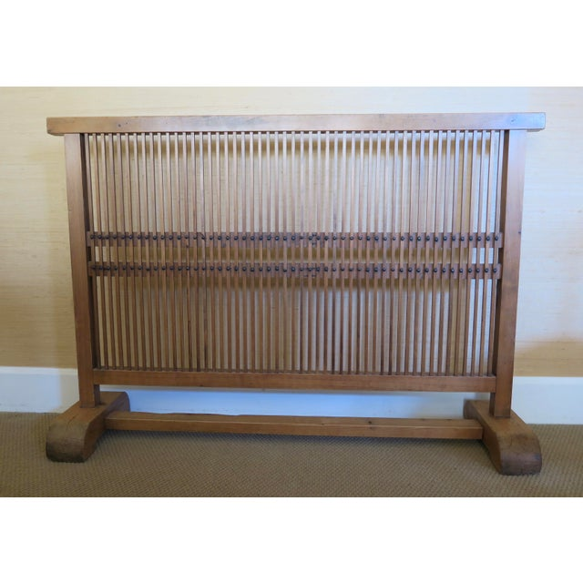 Antique Japanese Window Screen - Image 2 of 8