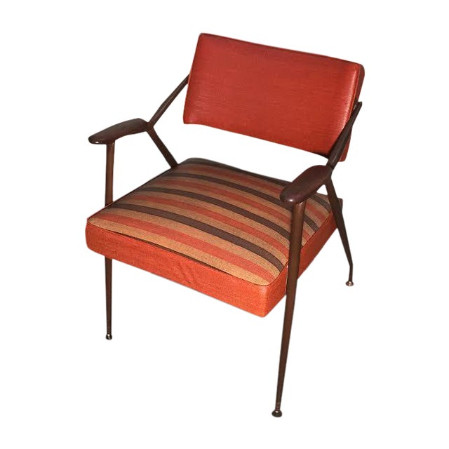 Viko by Baumritter Mid-Century Modern Lounge Chair - Image 1 of 11