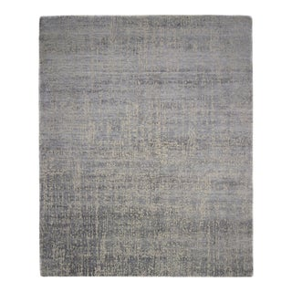 """One-of-a-Kind Contemporary Hand-Knotted Area Rug 8' 1"""" x 10' 0"""" For Sale"""