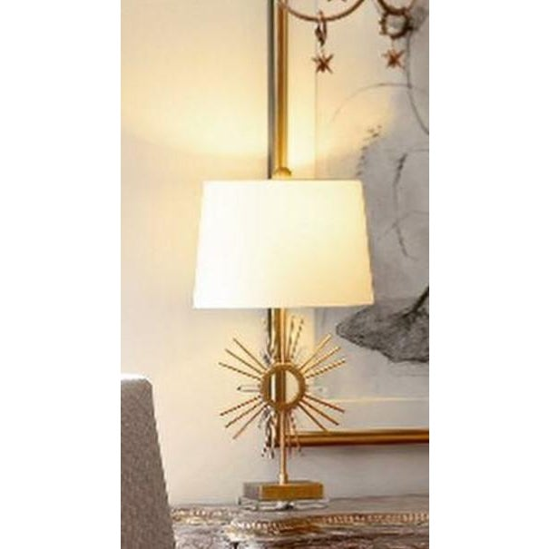 Sun King Table Lamp For Sale In Baton Rouge - Image 6 of 7