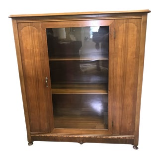 1920s Antique Bookcase For Sale