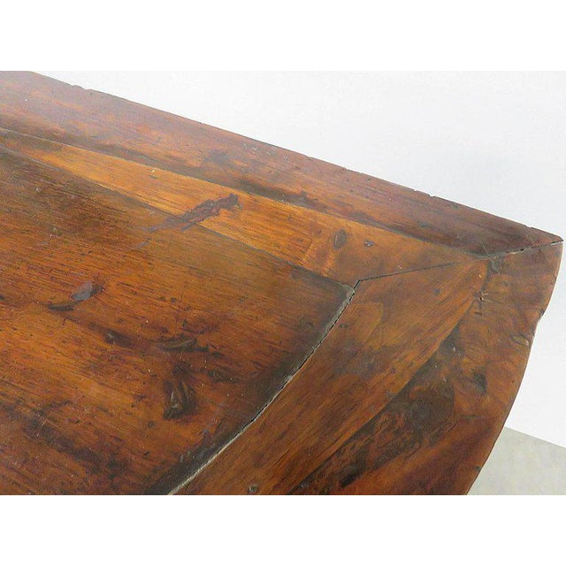Antique Demilune Hall Table For Sale - Image 11 of 13
