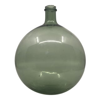 Antique French Hand-Blown Wine Bottle For Sale