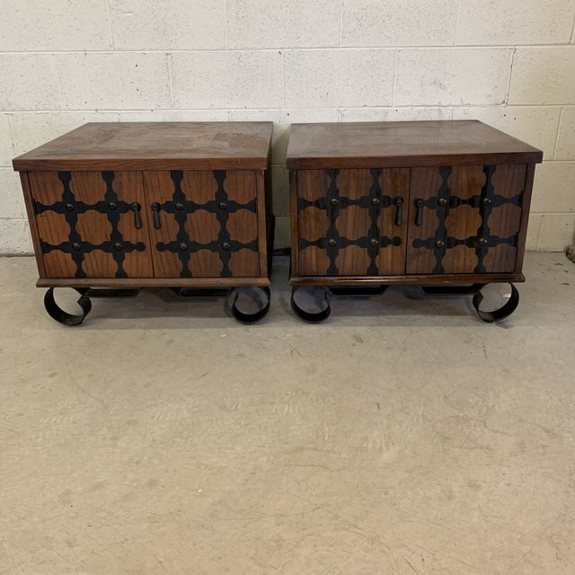 Lane Mid Century Spanish Style End Tables For Sale - Image 13 of 13