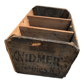 Widmer's Winery Harvest Grape Crate For Sale