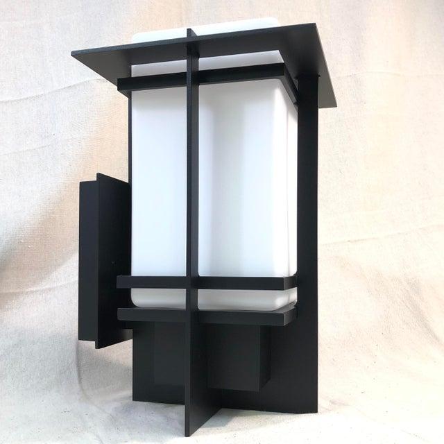 Hubbardton Forge Tourou Outdoor Wall Light Lantern For Sale - Image 10 of 10