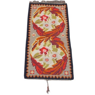 Charming Early 20th C Bessarabian Kilim For Sale