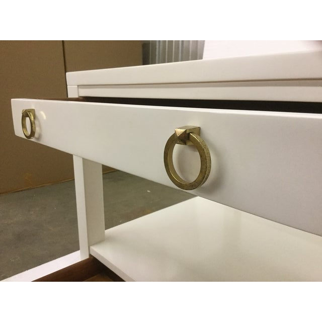 Somerset Bay Home Malibu Loft White End Tables - A Pair - Image 4 of 5