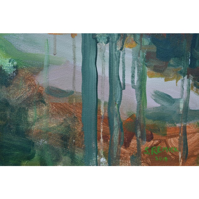 """Stephen Remick """"Path to the River"""" Painting For Sale In Providence - Image 6 of 11"""
