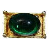 Image of Trifari Emerald Ring For Sale