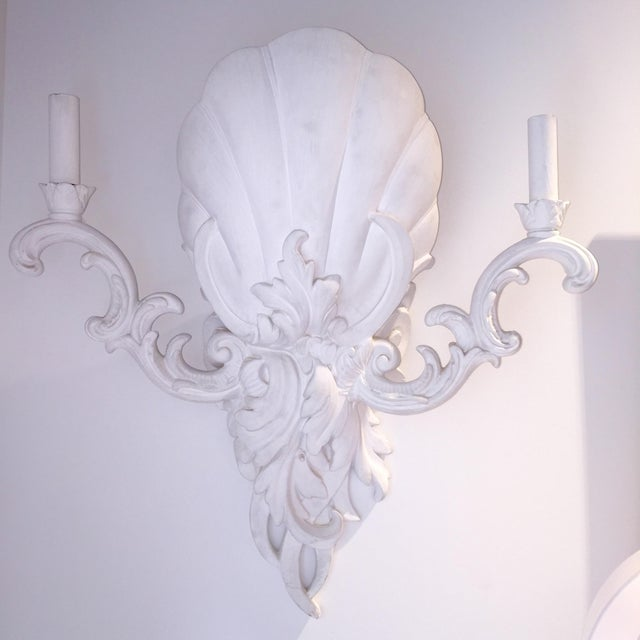 Serge Roche Style Sconces - Pair - Image 2 of 6