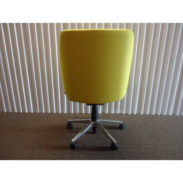 Steelcase Brian Kane by Coalesse & Steelcase Modern Bindu Yellow Executive Conference Chair For Sale - Image 4 of 13