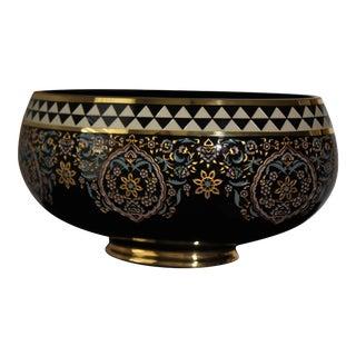 Turkish Ottoman Decorative Bowl For Sale