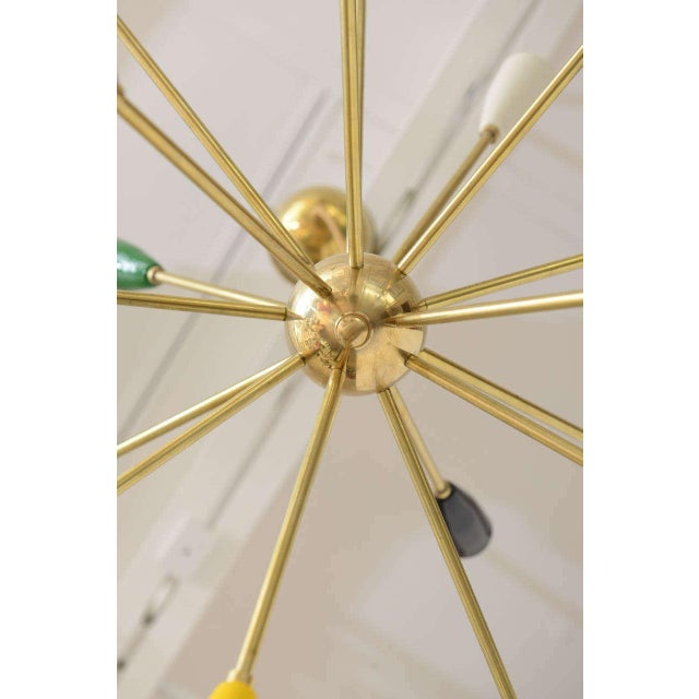 Sputnik Chandelier with 18 Shades - Image 4 of 8