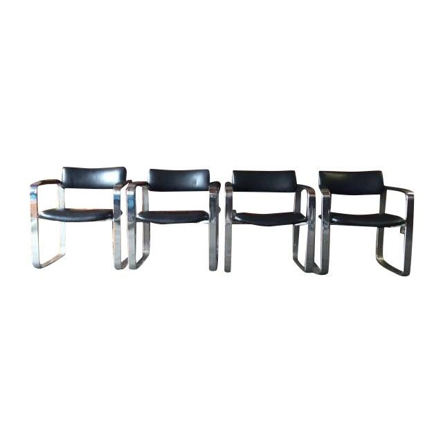 Mid-Century Eero Aarnio Chairs - Set of 4 - Image 1 of 8
