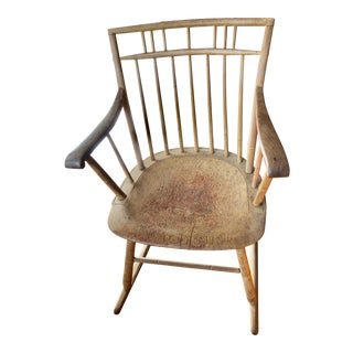 1820 Antique Rocking Chair For Sale