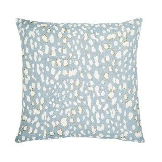 """Piper Collection Light Blue Linen """"Ollie"""" Pillow"""