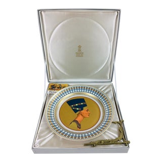 Kaiser Porcelain Queen NefertIti Decorative Plate For Sale