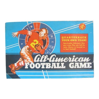Vintage Football Board Game, C. 1960 For Sale